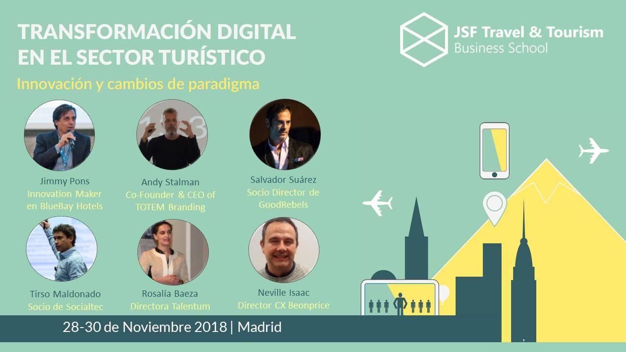 Transformación Digital en Turismo