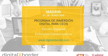 Digital X Border para entidades colaboradoras